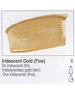 Golden Heavy Body Acrylic 8oz Jar - Iridescent Gold