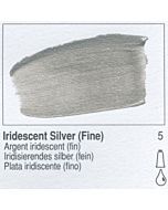 Golden Fluid Acrylic 1oz Bottle - Iridescent Silver (Fine)