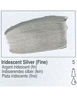 Golden Heavy Body Acrylic 2oz Tube - Iridescent Silver