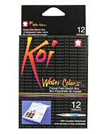 Koi Watercolor Pan Set of 12
