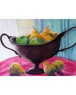 DEMO - Painting Still Life From The Studio Using Watercolor - Online Workshop With Michelle Montes 5-14-21
