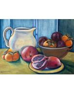 DEMO - Painting Still Life From The Studio Using Pastels - Online Workshop With Michelle Montes 5-28-21