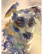 DEMO - Painting Pet Portraits From Photo Using Watercolor - Online Workshop With Michelle Montes 5-29-21