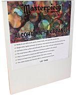 "Masterpiece 8x10"" Alcohol Ink Art Panel 1/8"" Thin"