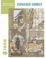 Edward Gorey: Frawgge Mfrg. Co. 1,000-piece Jigsaw Puzzle