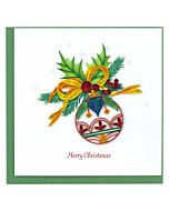 Quilling Card - Ornament