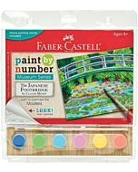 Faber-Castell Museum Series Paint By Number - The Japanese Footbridge