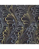 Metallic Plumes Gold / Blue / Green / Black