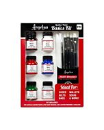 Angelous Acrylic Leather Paint Kit