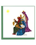 Quilling Card - Three Wise Men