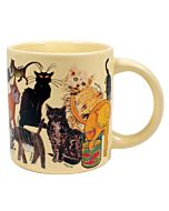 Unemployed Philosophers Guild - Artistic Cat Mug