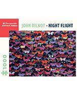 John Dilnot: Night Flight 1000 Piece Jigsaw Puzzle