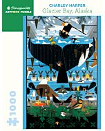 Charley Harper: Glacier Bay, Alaska 1000 Piece Jigsaw Puzzle