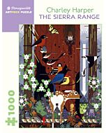 Charley Harper: The Sierra Range 1000 Piece Jigsaw Puzzle