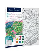 Faber-Castell Watercolor Paint By Number - Tropical