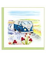 Quilling Card - Road Trip Greeting Card