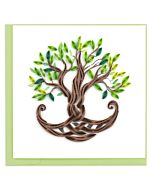 Quilling Card - Tree Of Life