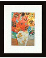 Nielsen Gallery Black Frame - Frame Opening: 8x10 - Mat Opening: 5x7