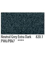 PanPastel Soft Pastels - Neutral Gray Extra Dark #820.1