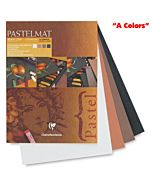 "Clairefontaine Pastelmat Pad of ""A Colors"" - 12x16"