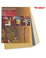 "Clairefontaine Pastelmat Pad of ""B Colors"" - 9x12"""