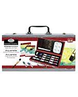 Royal & Langnickel Essentials Beginner Wood Box Set Watercolor