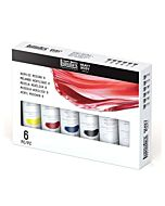 Liquitex Professional Heavy Body Acrylic Paint Mixing set of 6 2oz tubes