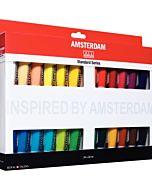 Amstrdam Acrylic 24 tube 20ml Set