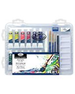 Royal & Langnickel Essentials Clearview Case Acrylic Painting