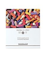 Sennelier Soft Pastels Cardboard Box Set of 40 Half Stick - Assorted Colors