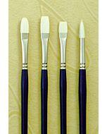 Silver Brush Bristlon Series 1903 Synthetic Hair - Filbert - Size 4