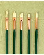 Silver Brush Grand Prix Series 1027 Chungking Bristle - Extra Long Filbert - Size 3