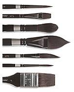 Silver Brush Black Velvet 3007S Script Size 06