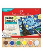Faber-Castell Museum Series Paint By Number - Starry Night