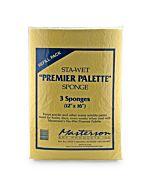 Sta-Wet Premier Palette - Sponge Refills Pack of 3