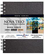Stillman & Birn Nova Series Trio Sketchbook - Wirebound - 6x8