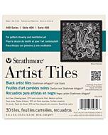 Strathmore 400 Series Art Tiles Black 30 Pack - 6x6