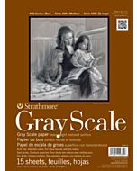 """Strathmore 400 Series Gray Scale Pad - 18x24"""""""
