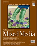 Strathmore 400 Series Mixed Media Pad - 18x24