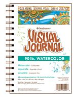 Strathmore 400 Series Watercolor Visual Journal 90lb. - 5.5x8""