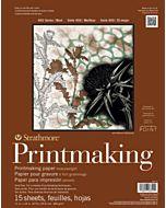 Strathmore 400 Series Heavyweight Printmaking Pad - 8x10