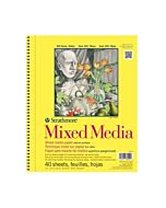 Strathmore 300 Series Mixed Media Pad Wirebound - 5.5x8.5