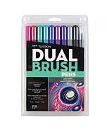 Tombow Dual Brush Pen 10 Galaxy Set