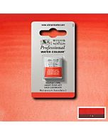 Winsor Newton Professional Watercolor - Half Pan - Scarlet Lake