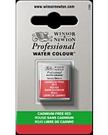 Winsor Newton Professional Watercolor - Half Pan - Cadmium-Free Red