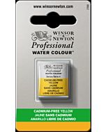 Winsor Newton Professional Watercolor - Half Pan - Cadmium-Free Yellow