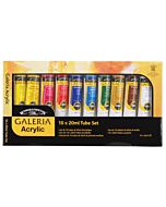 Winsor & Newton Galeria Set of 10 60ml Tubes