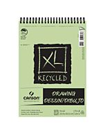 Canson XL Recycled Drawing Pad (60 Sheets) 9x12""
